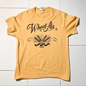 Upland Brewing Co Wheat Ale tee Cotton t-shirt Med